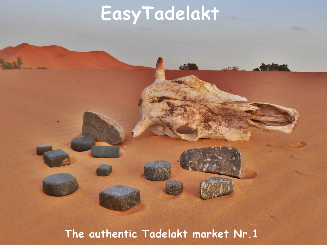 The authentic Tadelakt market for authentic people